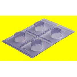 Molde acetato 3 peças mini pão de mel Porto formas