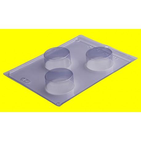 Molde acetato 3 peças pão de mel médio Porto formas