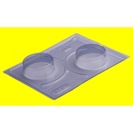 Molde acetato 3 peças pão de mel grande Porto formas