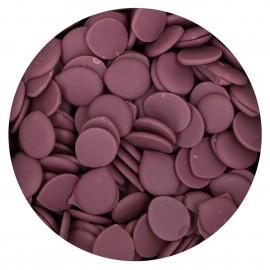 Pastilha chocolate sucedâneo violeta 250 gr.