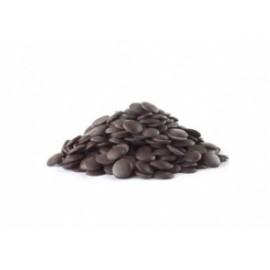 Pastilha chocolate sucedâneo preto 250 gr.