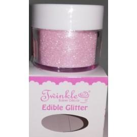 Pó glitter rosa bebé twinkle 8 gr.