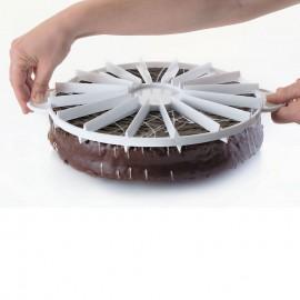 Marcador - fatia de bolo Patisse (14 e 16 fatias)