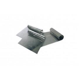 Raspador inox 18/10 com 14x15 cms