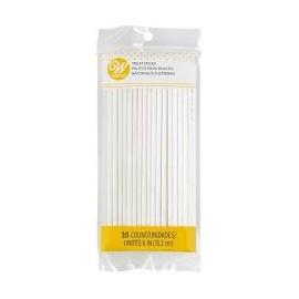 Sticks (pauzinhos) bolacha - biscoito- 35 unid. com 15 cms Wilton lollipop