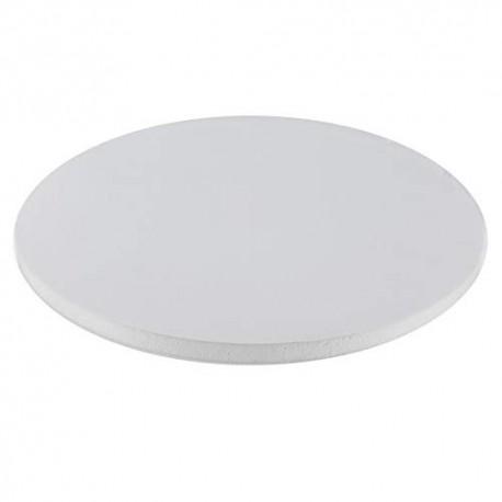 Base branca com 30x1,2 cm