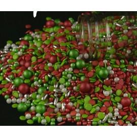 Mix tulipa (vermelho, verde e prata) 70 gr.
