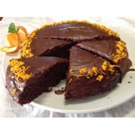 Preparado Bolo de laranja e chocolate 500 gr.