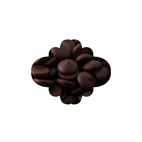 Pastilha chocolate negro caribe 10 kgs