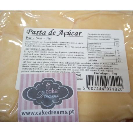 Pasta açúcar pele 1 kg sabor sugo - chiclet