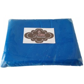 Pasta de açúcar Azul Turquesa 1 kg sabor tradicional