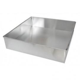 Forma quadrada vincada 22x22x6 cms