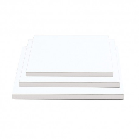 Base branca com 25x25 cms altura 1.2 cms Decora