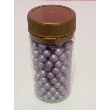 Pérola violeta 70 gramas tamanho L decoração