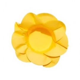 Formas papel amarelo 28 unid. brigadeiros - bombom - flor