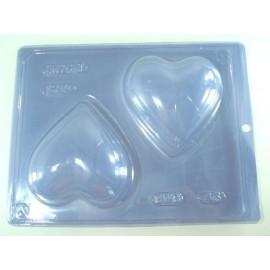 Molde para chocolate BWB coração 45