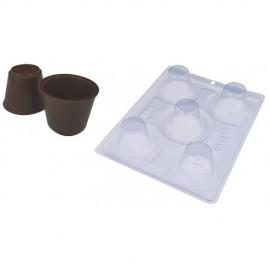 Molde acetato 3 peças copinho de café BWB 9460