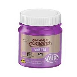 Corante para chocolate violeta 12 gr. Mix