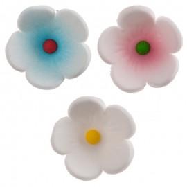 Flores em açúcar diâmetro 2.5 cms dekora (unidade)