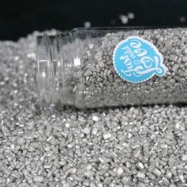 Cristais - glimmer prata 100 gr.