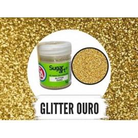 Purpurina - Glitter 5 gr. ouro - Sugar Art