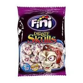Saco de 100 gr. gomas pirate skulls Fini