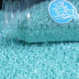 Cristais - glimmer azul claro 100 gr.